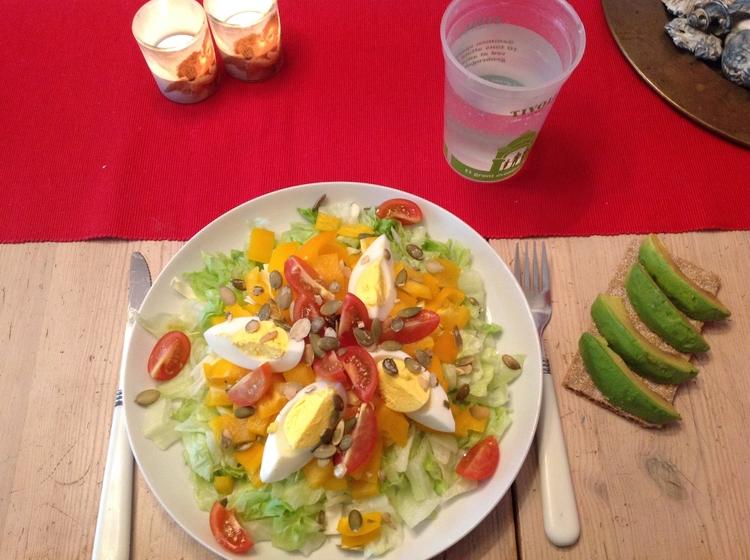 avo og frokostsalat